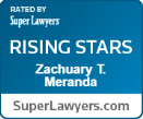 Accolade: Rated by Super Lawyers, Rising Stars 2018